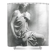 Model Viii  Shower Curtain