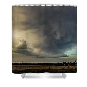 Moderate Risk In South Central Nebraska 012 Shower Curtain