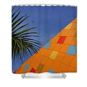 Modern Architecture Shower Curtain