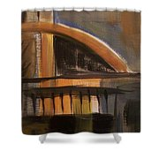 Modern Architecure 2 Shower Curtain