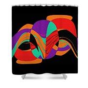 Modern Art 2 Shower Curtain