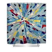 Modern Art One Shower Curtain