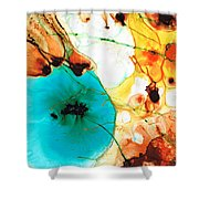 Modern Art - Potential - Sharon Cummings Shower Curtain