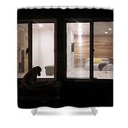 Modern Bungalo Shower Curtain
