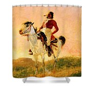 Modern Comanche 1890 Shower Curtain