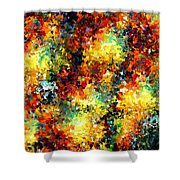 Modern Composition 02 Shower Curtain