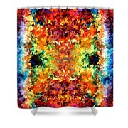 Modern Composition 12 Shower Curtain