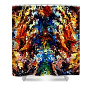 Modern Composition 13 Shower Curtain