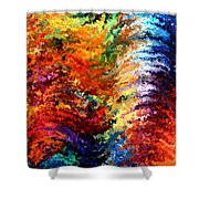 Modern Composition 14 Shower Curtain