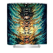 Modern Composition 15 Shower Curtain