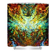 Modern Composition 16 Shower Curtain