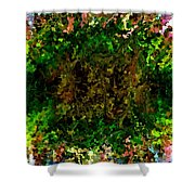 Modern Composition 17 Shower Curtain