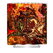 Modern Composition 19 Shower Curtain