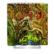Modern Composition 20 Shower Curtain