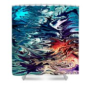 Modern Composition 32 Shower Curtain