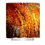 Modern Composition 33 Shower Curtain