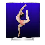 Modern Dancer  Shower Curtain