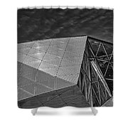 Modern Detail Mono Shower Curtain