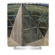 Modern Detail Panorama Shower Curtain