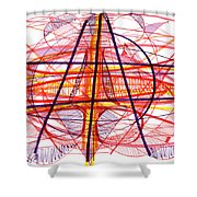 Modern Drawing Eighty-five Shower Curtain