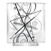Modern Drawing Forty-eight Shower Curtain