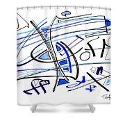 Modern Drawing Twenty-seven Shower Curtain