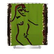 Modern Eygptian Shower Curtain