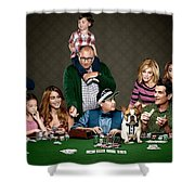 Modern Family Shower Curtain