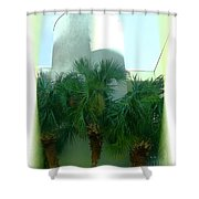 Modern Hotel Of Old Florida Shower Curtain