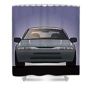 Modern Japanese Icons Subaru Alcyone Svx Shower Curtain