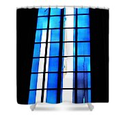 Modern Johannes Schreiter Window Mainz 2 Shower Curtain