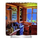 Modern Kitchen Iceland Shower Curtain