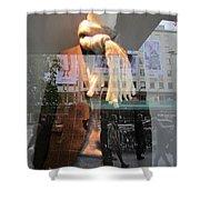 Modern Man Shower Curtain