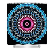 Modern Mandala Art 27 Shower Curtain