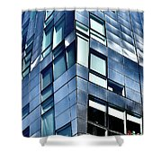 Modern Ny Building Shower Curtain