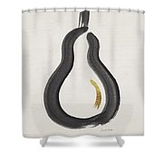 Modern Pear- Art By Linda Woods Shower Curtain