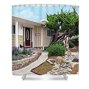 Modern Suburban House Hayward California 26 Shower Curtain