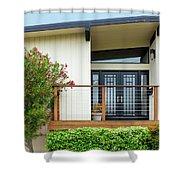 Modern Suburban House Hayward California 27 Shower Curtain