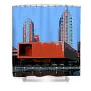 Modern Tampa Shower Curtain