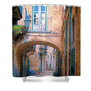 Modica Street Shower Curtain