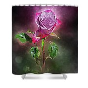Modified Rose Shower Curtain