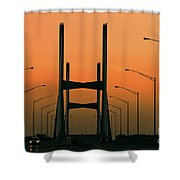 Modified Suspension Infrared Shower Curtain
