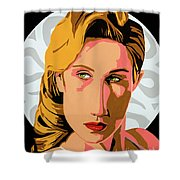 Modigliani Modern 2 Shower Curtain