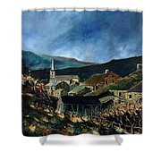 Mogimont Village Ardennes  Shower Curtain
