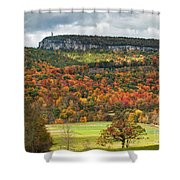 Mohonk Tower Shower Curtain