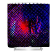 Moire No. 3 Shower Curtain