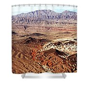 Mojave Desert Magic Shower Curtain
