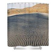 Mojave Kelso Dunes Portrait Shower Curtain