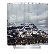 Molas Pass Summit Shower Curtain