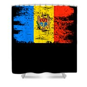 Moldova Gift Country Flag Patriotic Travel Shirt Europe Light Shower Curtain